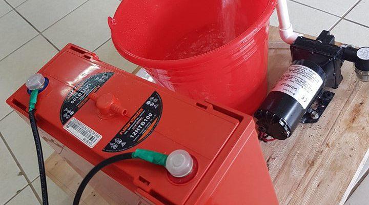 12V Solar pump