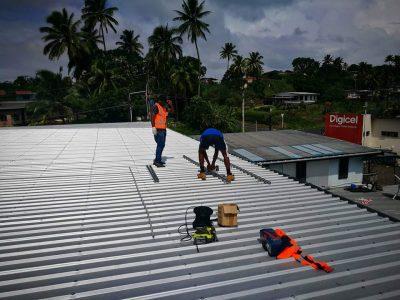 Hybrid Solar System for Solar Fiji Office