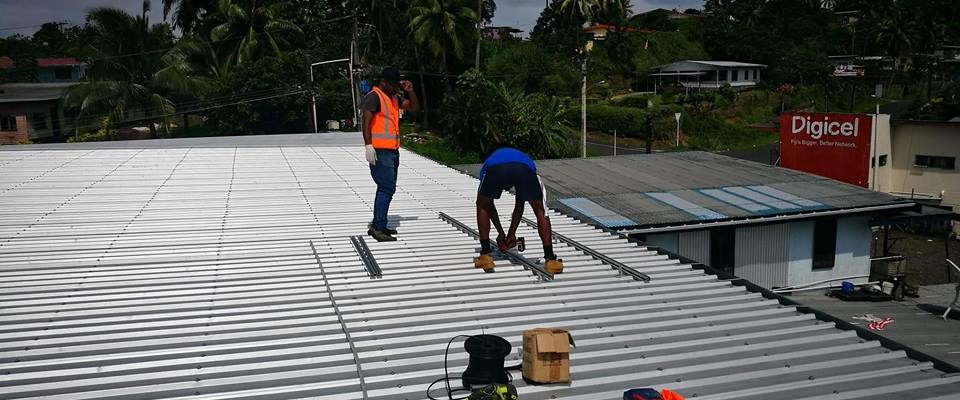Hybrid Solar System for Solar Fiji Office