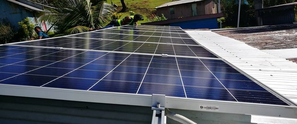 Solar System Completed in Vacalea Kadavu