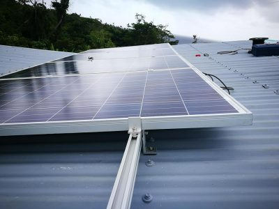 Solar System Installation Completed in Koro Island