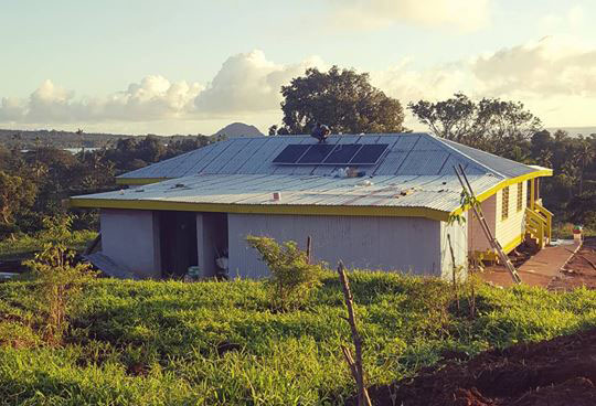 Solar System Installation Completed in Taveuni
