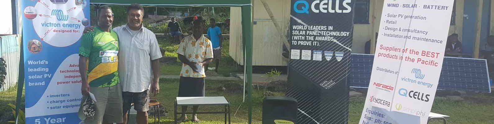 Solar Fiji Rugby 7s Tournament in Moturiki