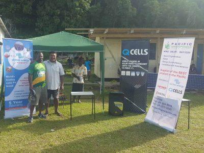 Solar Fiji Rugby 7s Tournament in Moturiki