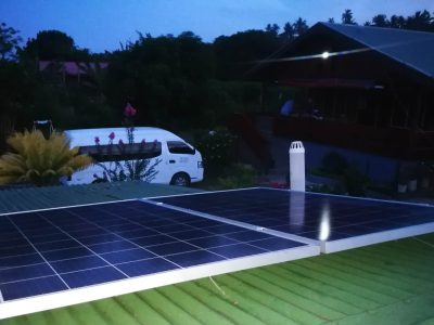 Solar System Installed in Waiyevu, Taveuni Island