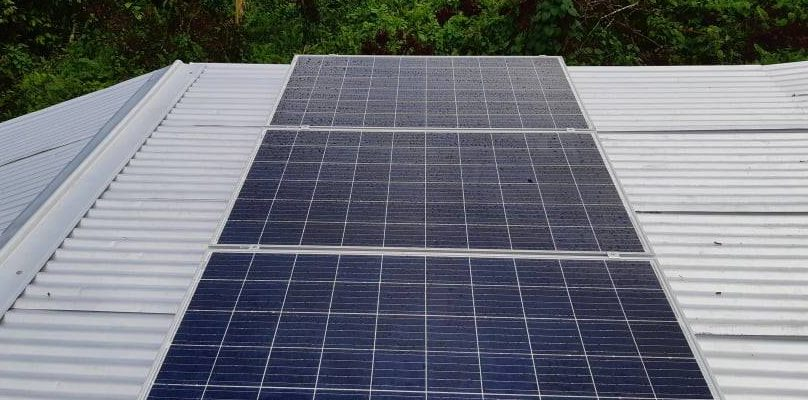 Solar System Completed in Savusavu