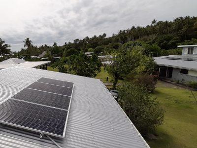Offgrid Solar System in Nananu-i-Ra, Rakiraki, Fiji