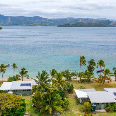 Solar Fiji Installation for 2 Cottage in Nananu-i-ra Rakiraki Fiji Islands