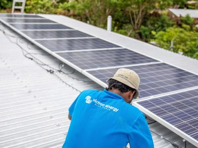 Solar System Installation Completed in Nananu-i-Ra