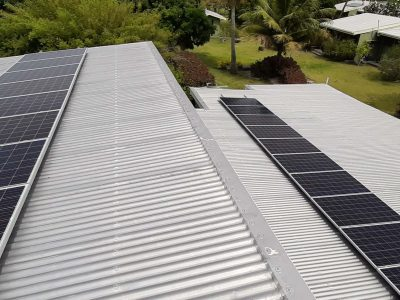 Victron Off Grid Solar System for Bethams Beach Cottage in Nananu-i-Ra
