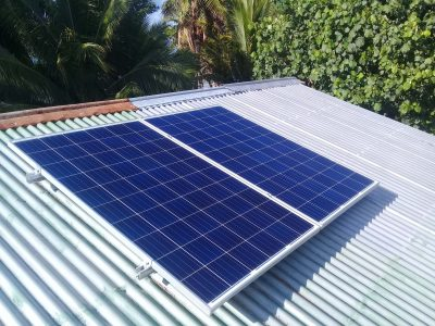Offgrid Solar System in Oneata Island