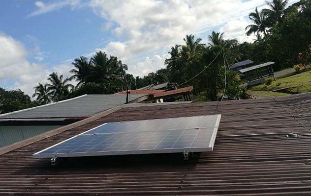 Offgrid Solar System in Tailevu Fiji
