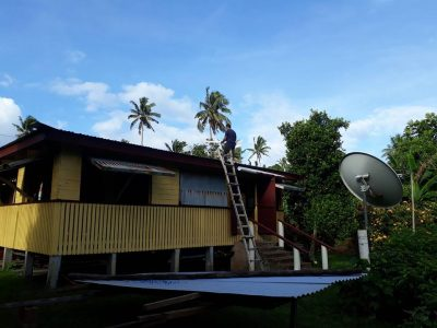 Offgrid Solar System in Taveuni, Fiji