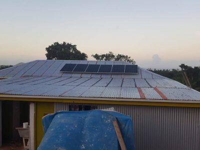 Solar System Solar System Installation Completed in TaveuniInstallation Completed in Taveuni