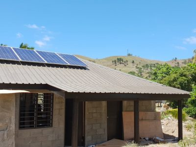 Solar System Installation Completed at Malolo Island