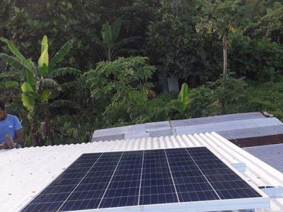 Solar System Completed in Delaivuna, Taveuni
