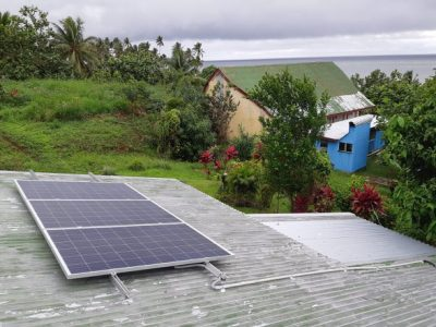 Solar System Completed in Cakaudrove