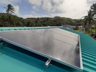 Solar System Completed in Vanuabalavu