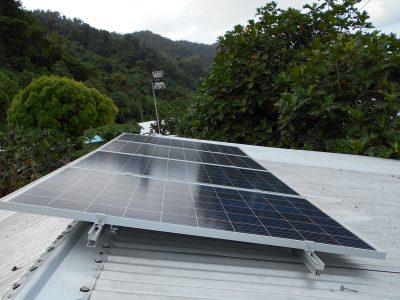 Offgrid Solar System in Koro Island, Fiji