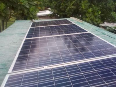 1.06KWP Offgrid Solar System in Waya Island, Yasawa, Fiji