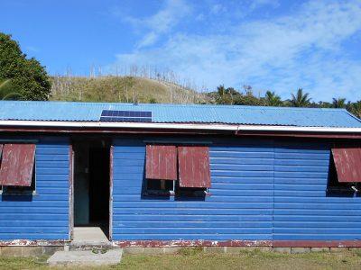 Offgrid Solar System Vanuabalavu, Fiji