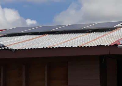 Offgrid Solar System in Sawaieke, Gau Island, Fiji