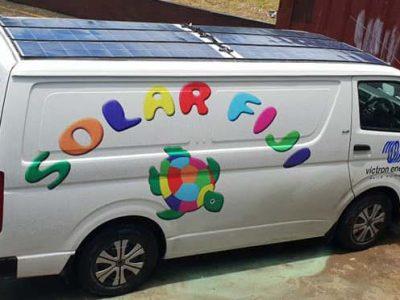 Solar Fiji Van