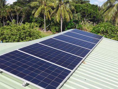 Offgrid Solar System in Dawasamu, Fiji