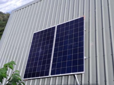 Offgrid Solar System in Staff Quarters in Malolo Island