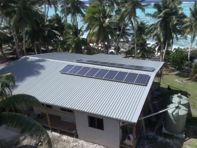 Off Grid Solar System in Rotuma, Fiji