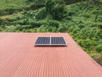 Offgrid Solar System in Daveqele, Kadavu