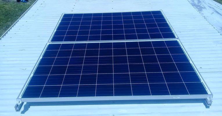 0.6kWp Offgrid Solar System in Moala Island, Fiji