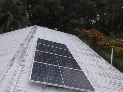 1.2kWp Offgrid Solar System in Bountiful Elsio Village, Rotuma