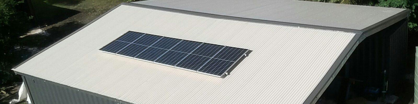 1.8kWp Offgrid Solar System in Utriki, Rotuma
