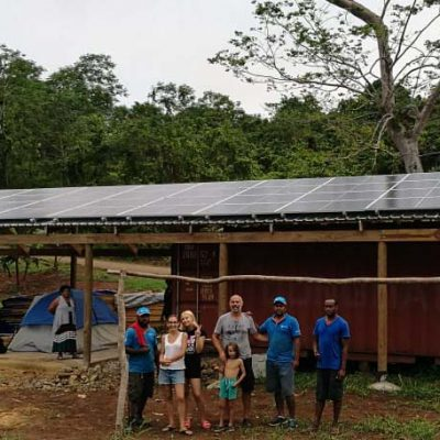 Commercial Victron Off Grid Solar System for Vatulutu Resort, Fiji