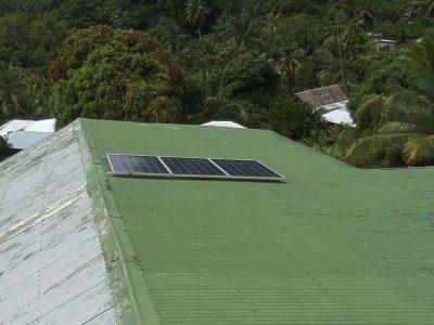 Offgrid Solar System in Kioa Island