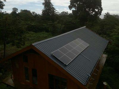 1.80KWP Offgrid Solar System in Taveuni, Fiji