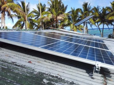 Ministry of Fisheries Hands Over Third Solar Freezer
